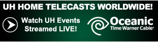 Oceanic Time Warner Cable Live Streaming of University of Hawaii Sporting Events