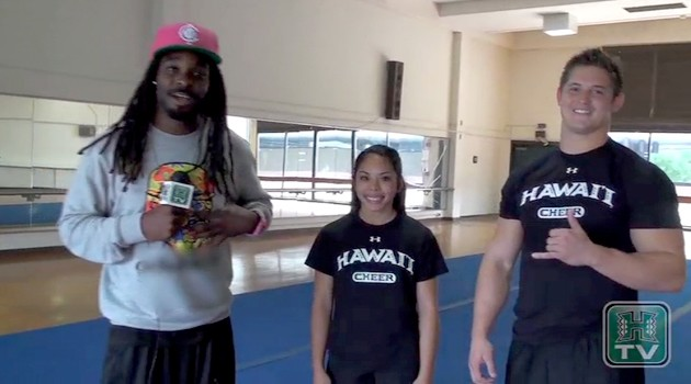 """Mullen Around"" With UH Rainbow Cheerleaders Dawn Vess and Jeremy Sage"