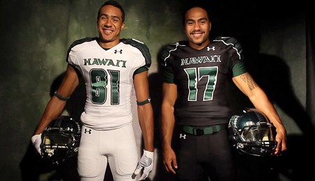 online store 2a51d 11694 UH Football Unveils New Uniforms - University of Hawai'i at ...
