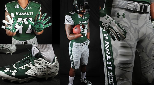 b0cef686ed8 Football Unveils New Home Uniforms For 2015 - University of Hawai i ...