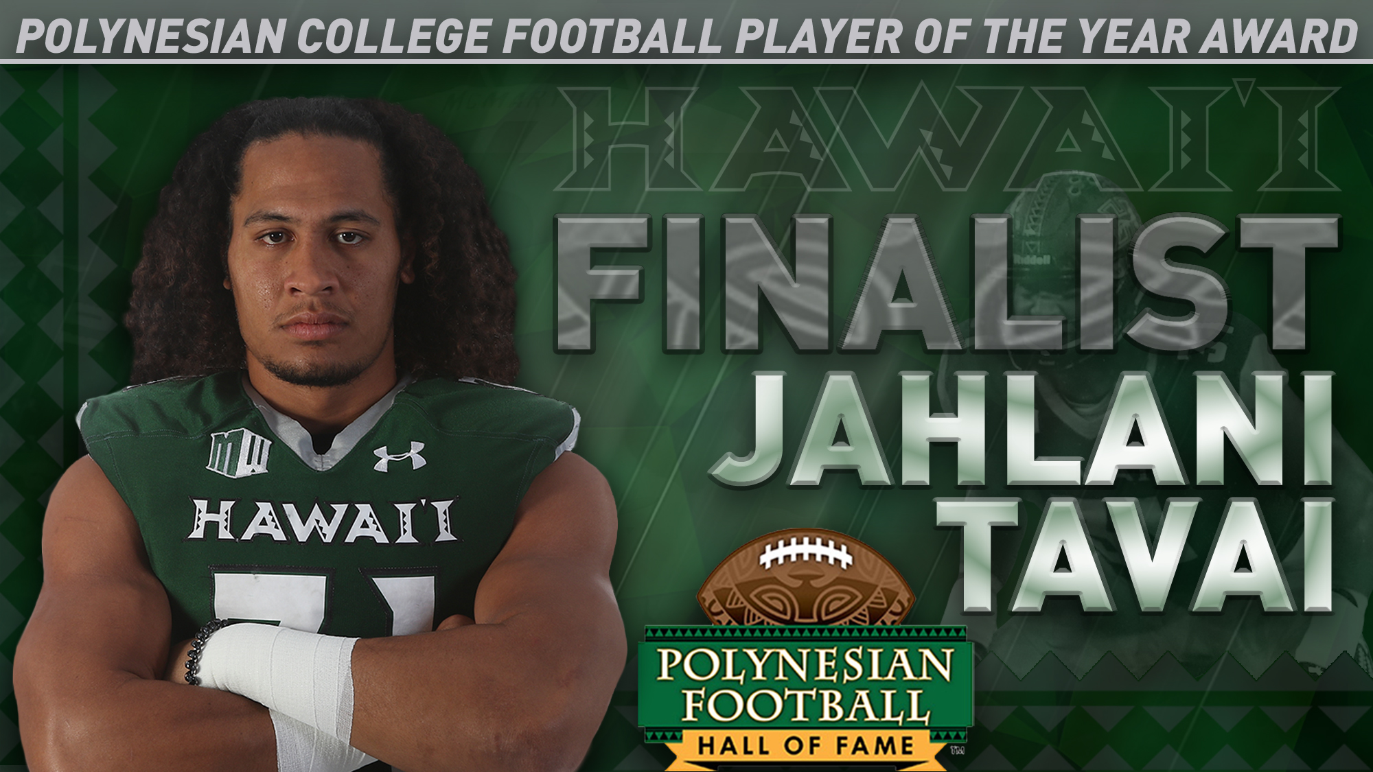 Tavai Among Finalists For Polynesian Player Of The Year University