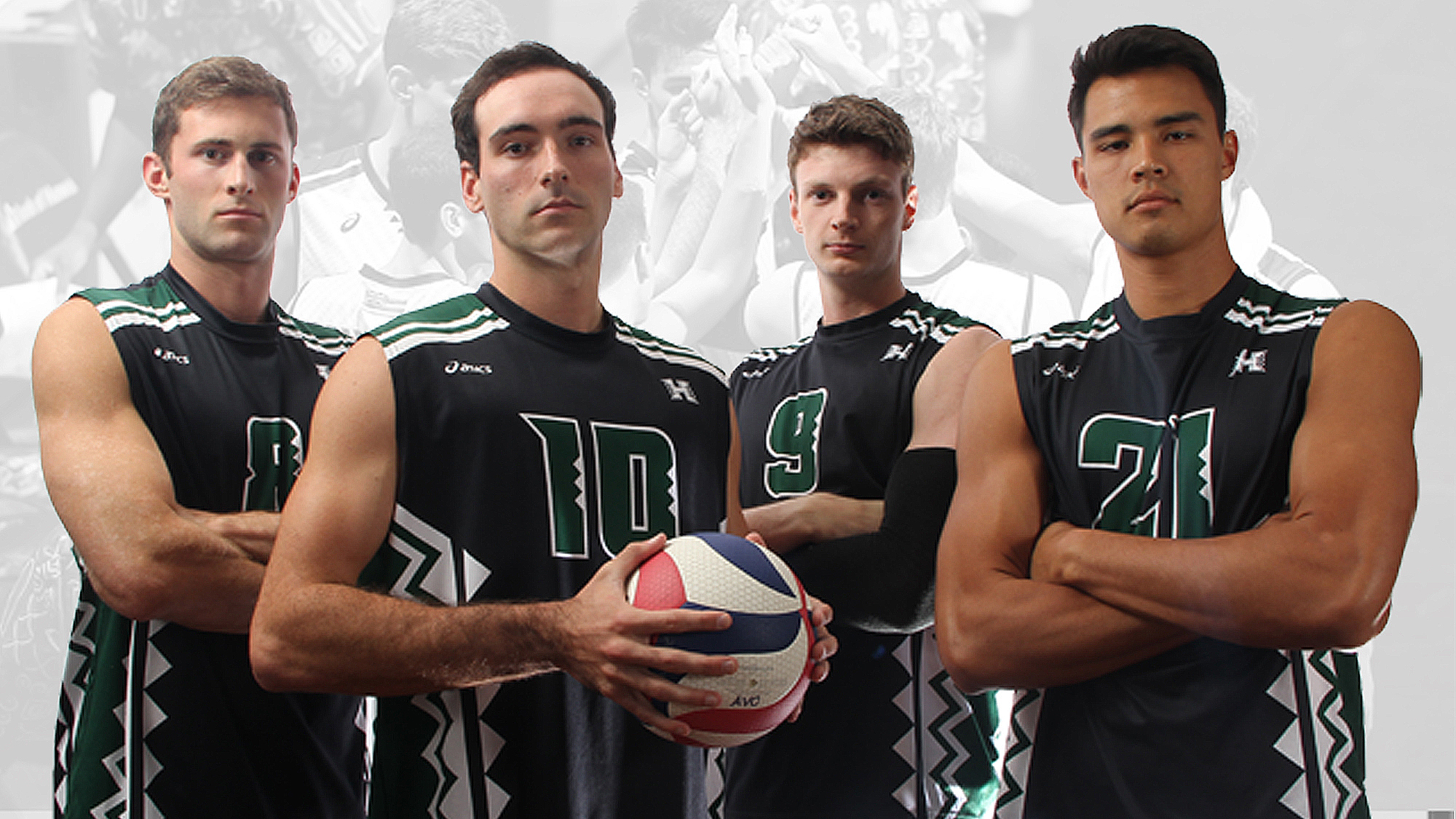 Four Men S Volleyball Seniors Bid Aloha This Week University Of Hawai I At Manoa Athletics