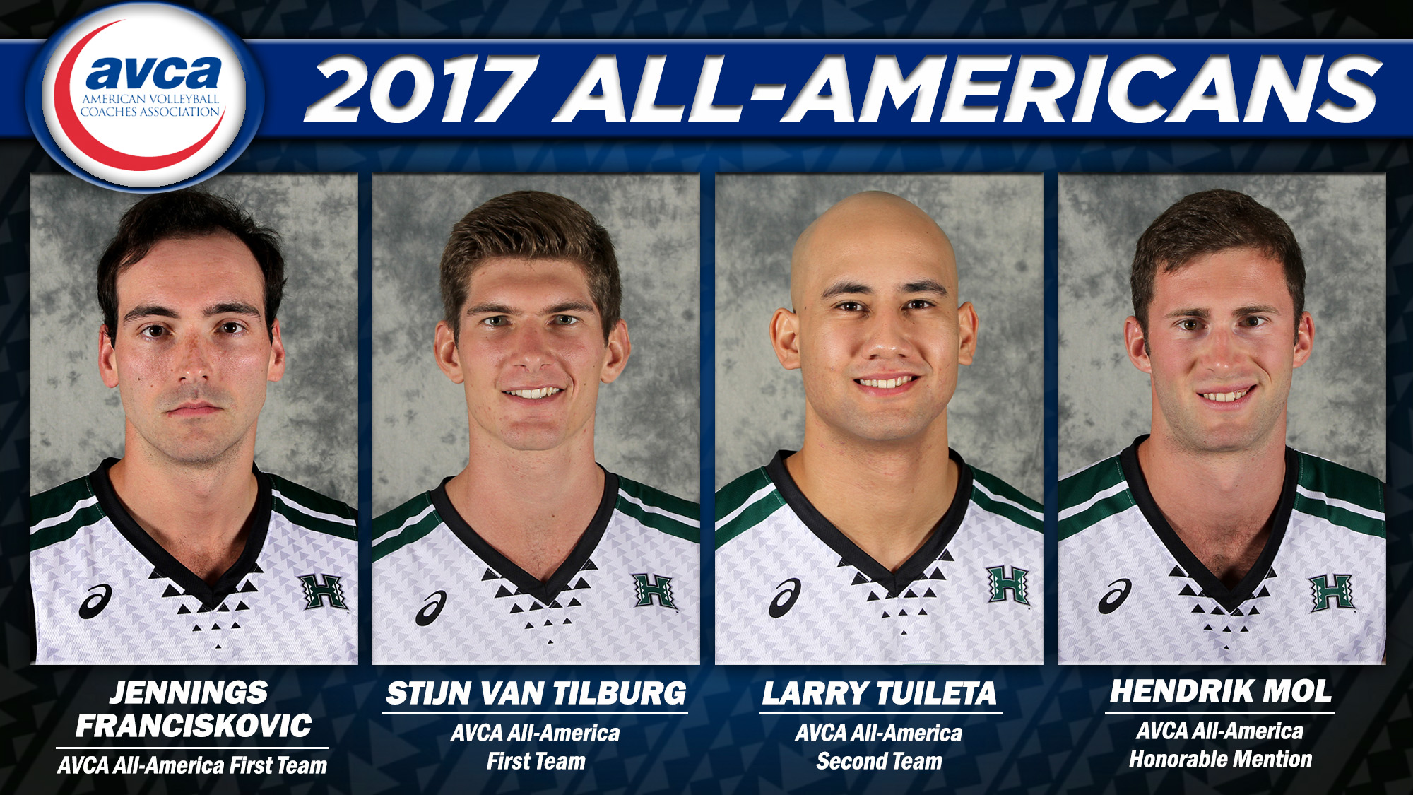 Four Warriors Named Avca Men S Volleyball All Americans University Of Hawai I At Manoa Athletics