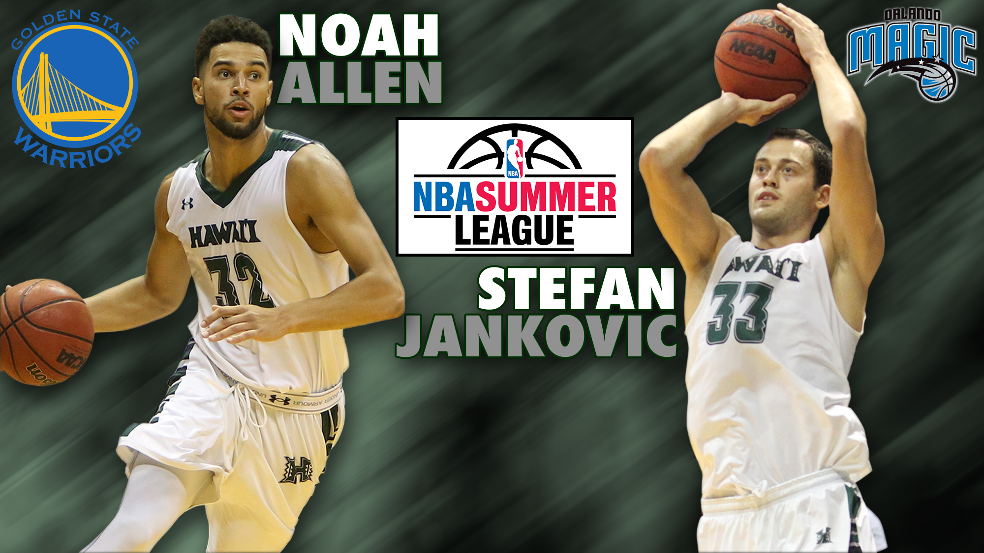 Allen and Jankovic Make NBA Summer League Rosters