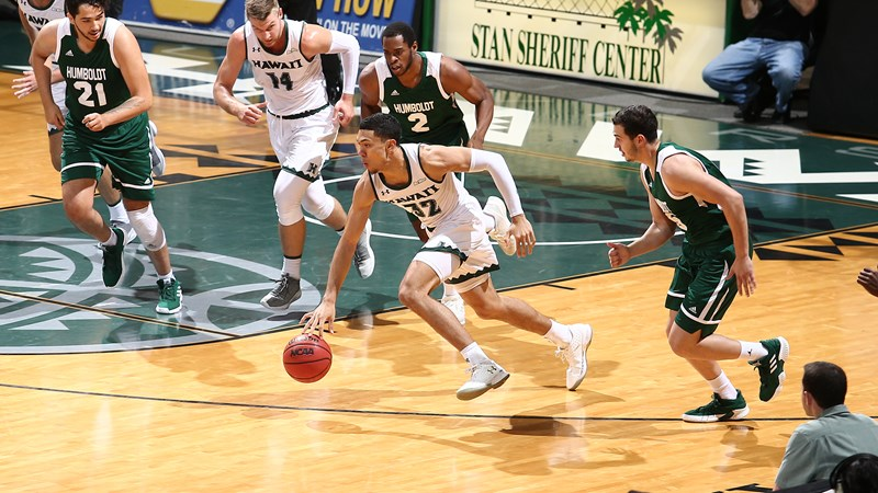 Men S Basketball Rolls In Win Over Humboldt State