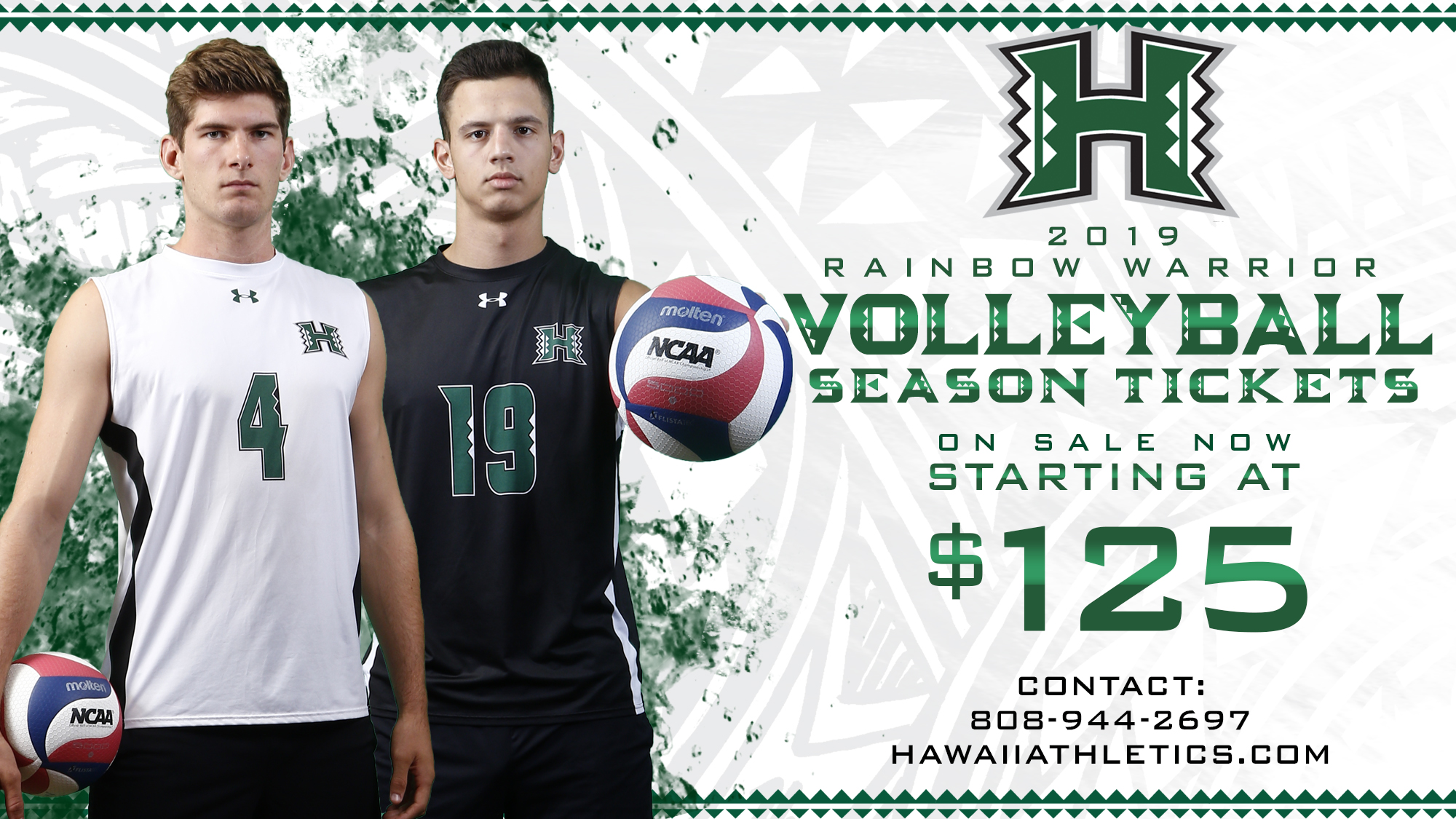 Men S Volleyball Season Tickets On Sale Now University Of Hawai I At Manoa Athletics