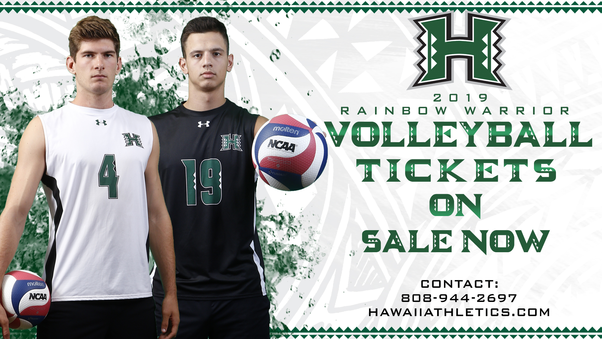 2019 Men S Volleyball Tickets On The Hunt For A Title University Of Hawai I At Manoa Athletics