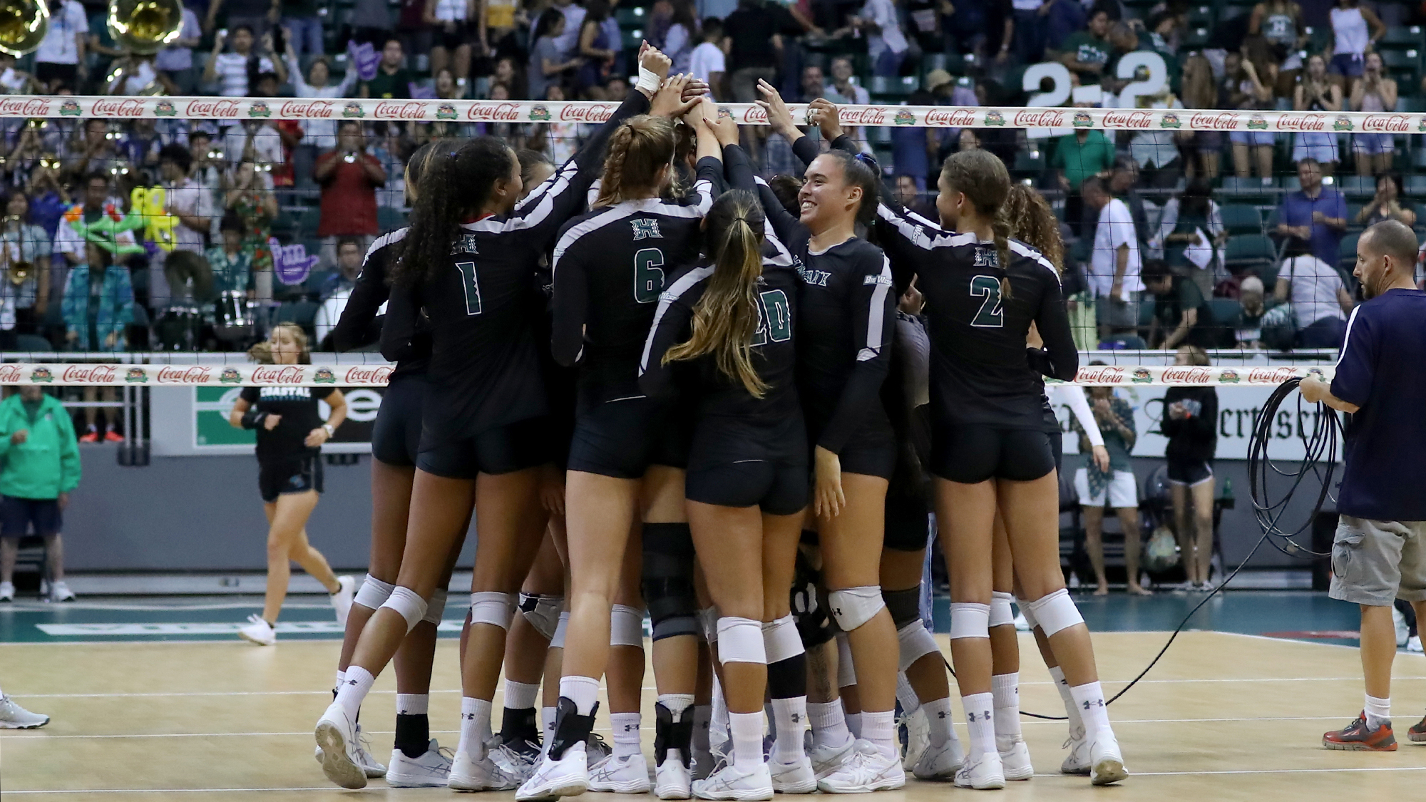 Women S Volleyball Returns To Host Cal State Fullerton Uc Riverside University Of Hawai I At Manoa Athletics