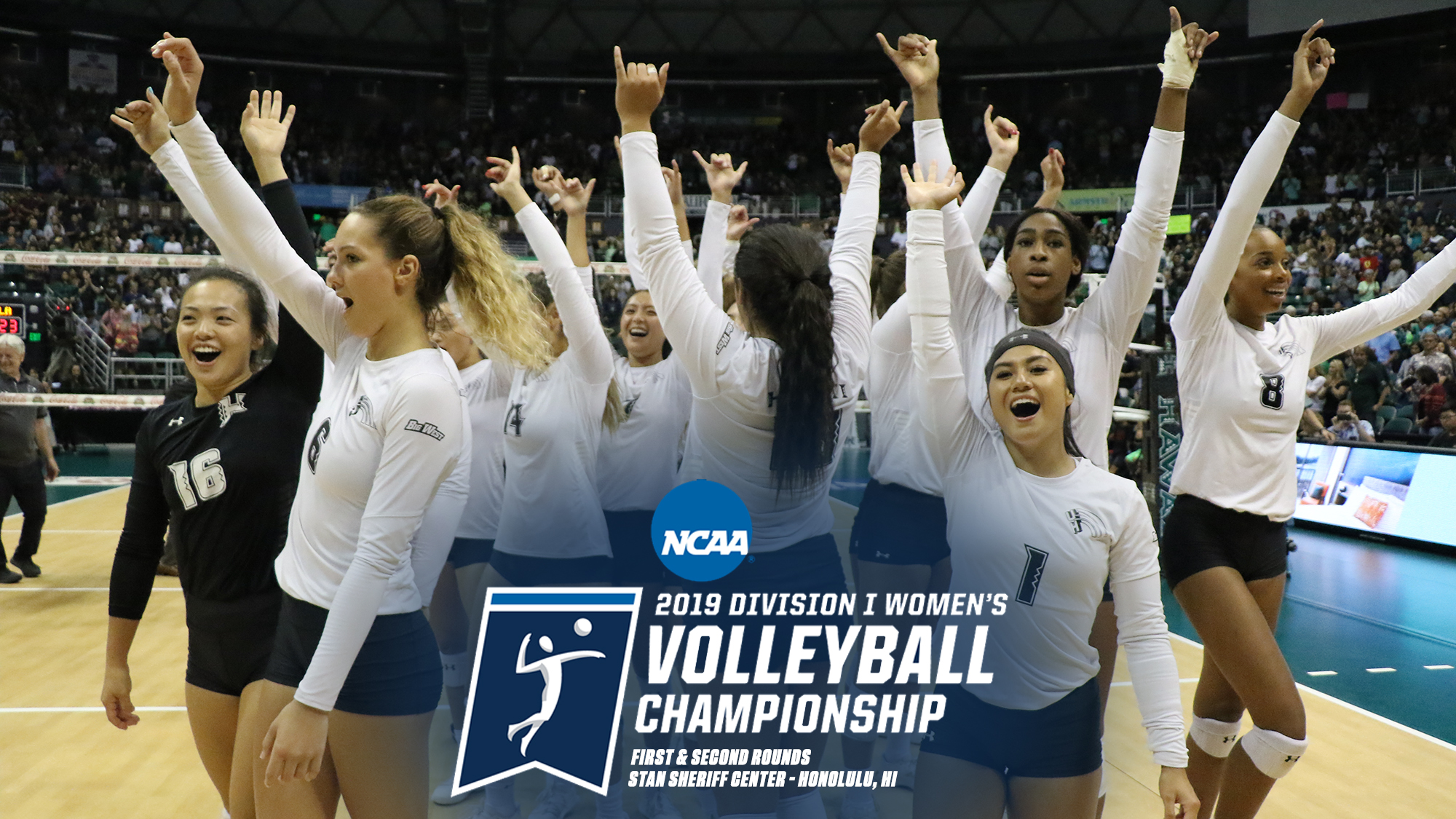 No 18 Women S Volleyball Opens 2019 Ncaa Tournament Against Northern Colorado University Of Hawai I At Manoa Athletics