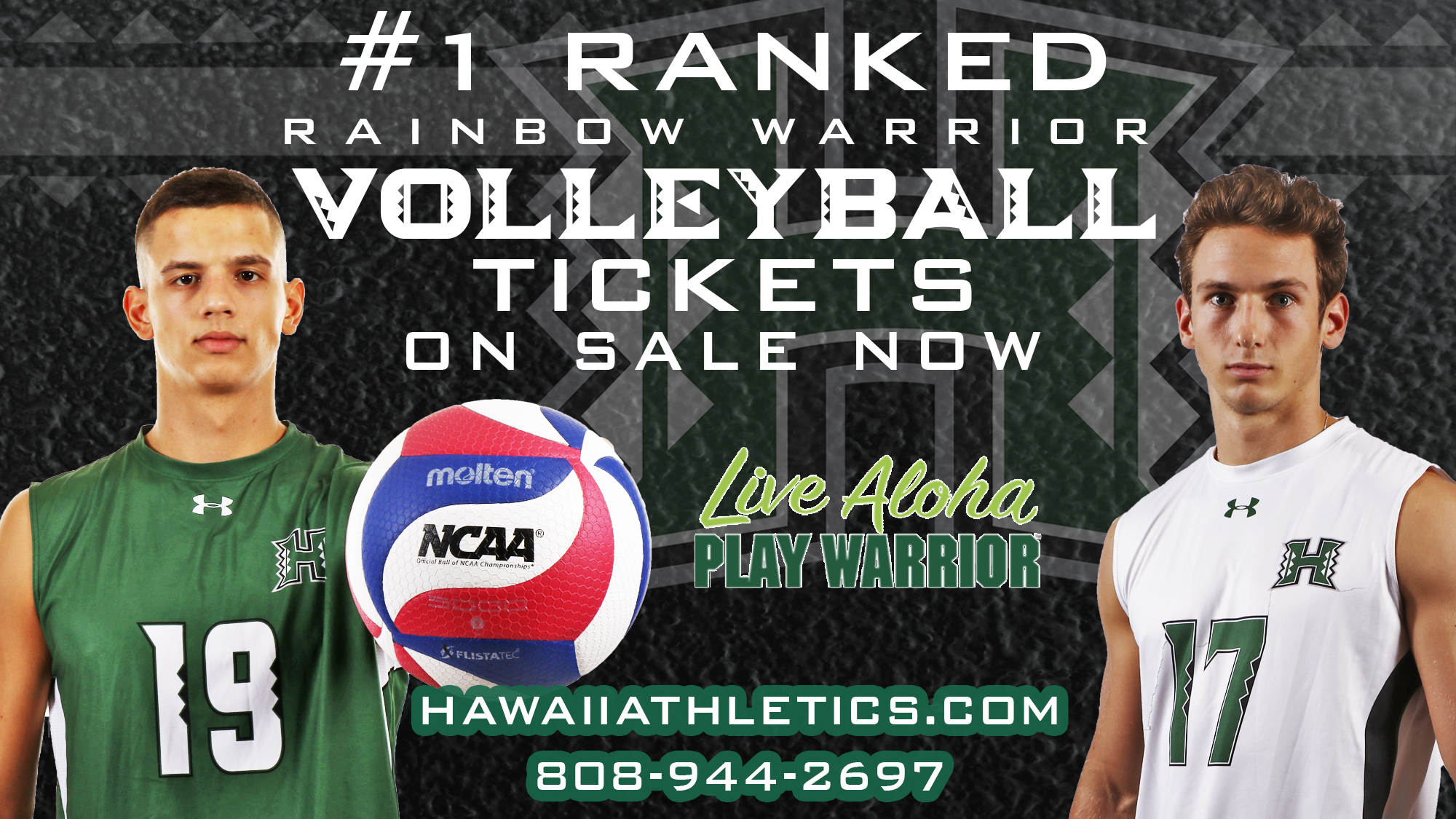 Men S Volleyball Season Individual Tickets On Sale Now University Of Hawai I At Manoa Athletics