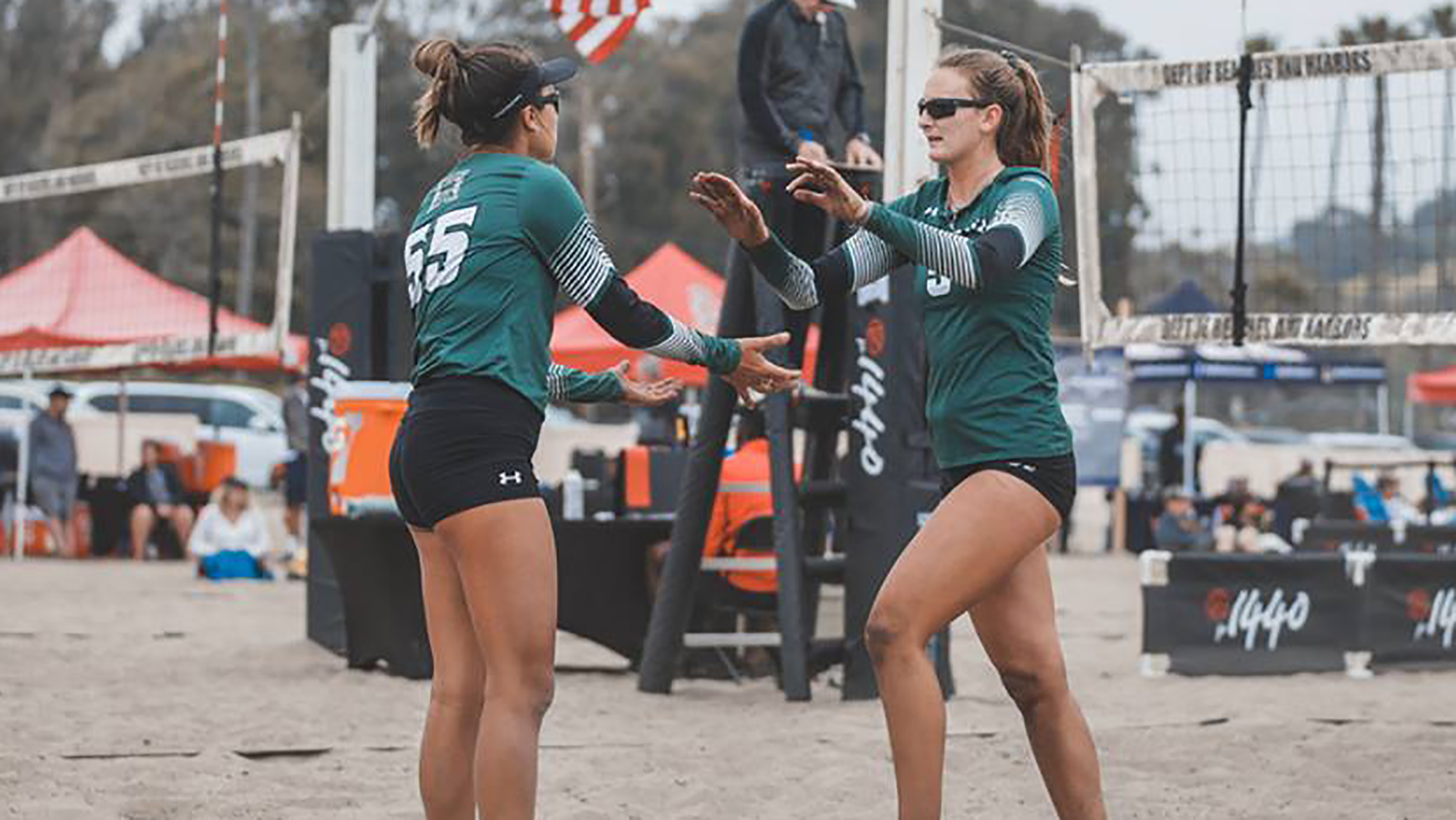 Sandbows Fall To Cal Poly In Big West Title Match University Of Hawai I At Manoa Athletics