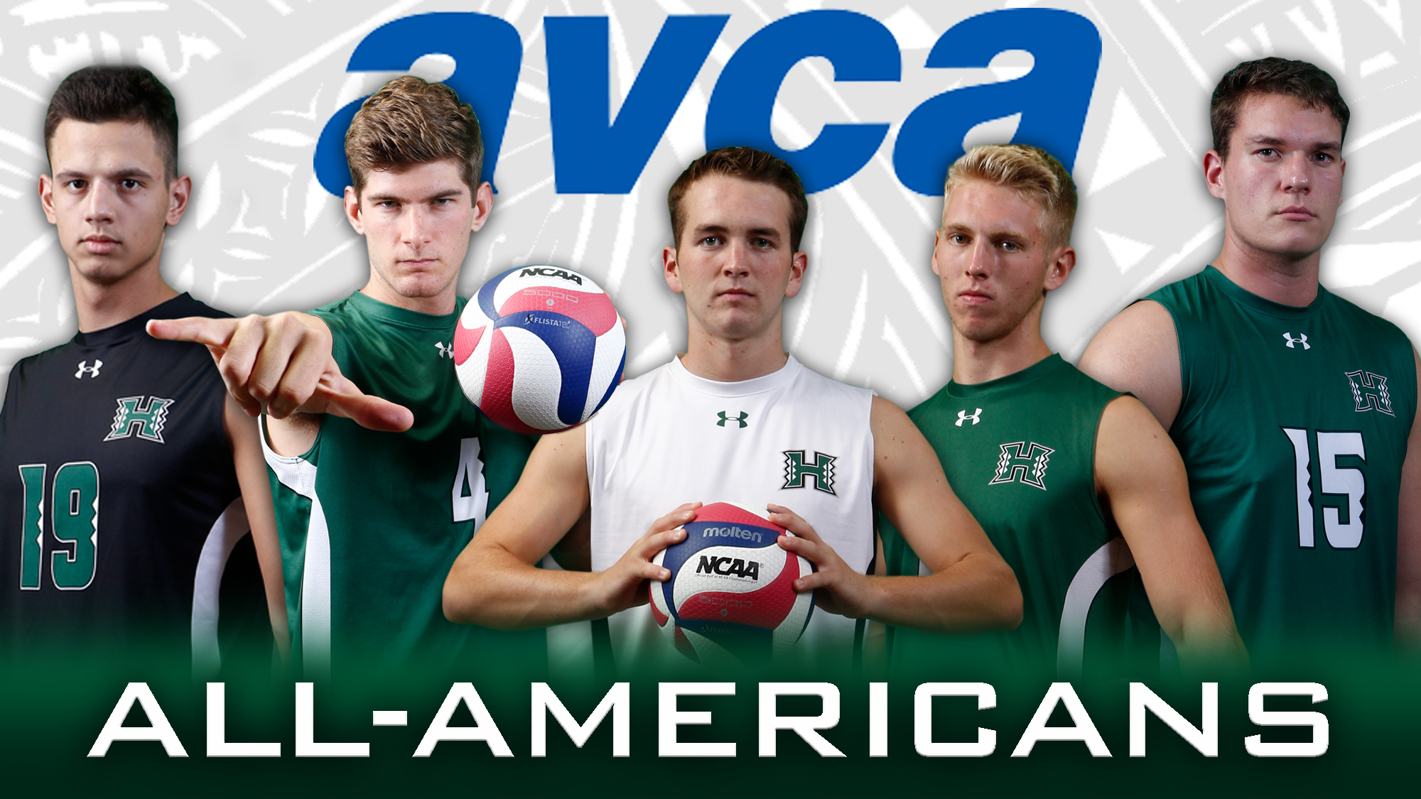 Record Four Warriors Selected As Avca First Team All Americans University Of Hawai I At Manoa Athletics