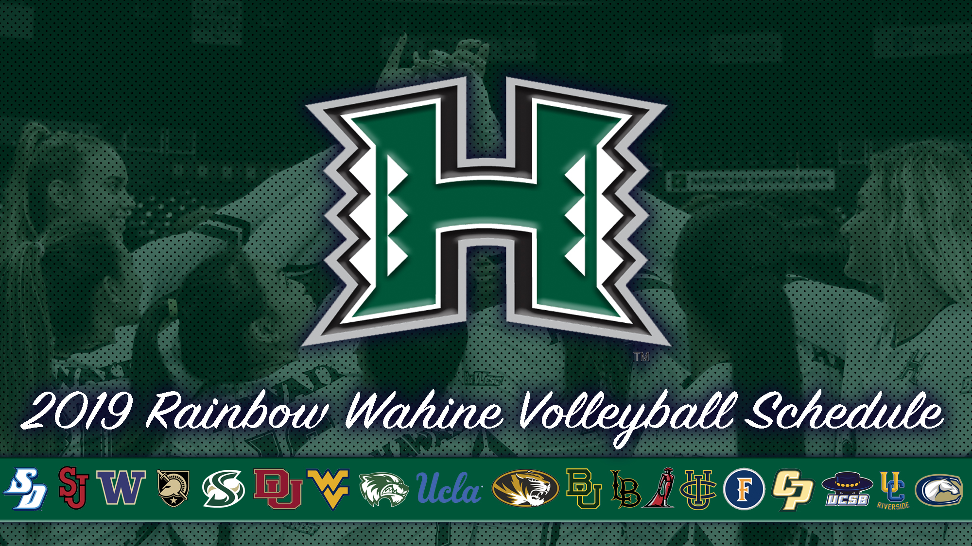 Women S Volleyball Releases 2019 Schedule University Of Hawai I At Manoa Athletics