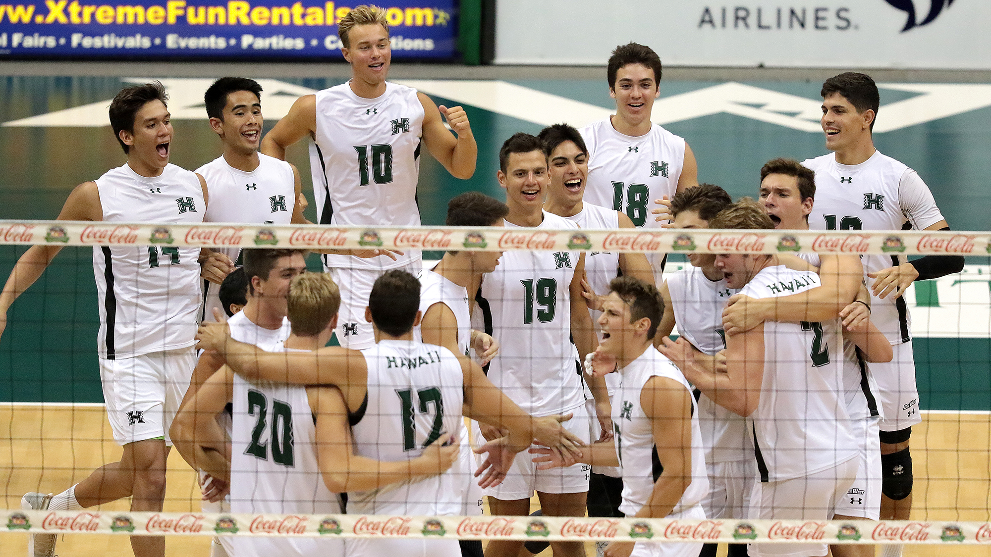 No 1 Men S Volleyball Continues Season Opening Homestand University Of Hawai I At Manoa Athletics