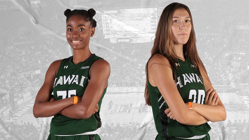 Q&A with the Twin Towers, Alicja Falkowska and Channel Noah - University of Hawai'i at Manoa Athletics